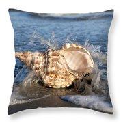 Triton Shell  Throw Pillow