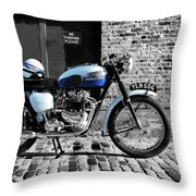 Triumph Bonneville T120 Throw Pillow