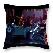 Triumph In Miniture Throw Pillow