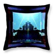 Triumph In Rome Throw Pillow