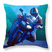 Triumph Sprint - Franklin Canyon  Throw Pillow