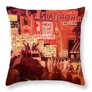 Triumphal Welcome Throw Pillow