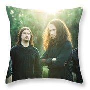 Trivium Throw Pillow