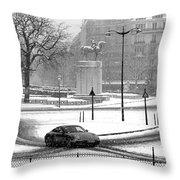 Trocadero Throw Pillow