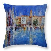 Trogir  -  Croatia Throw Pillow