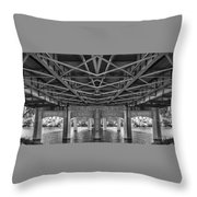 Troll's View Throw Pillow