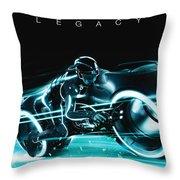Tron Legacy Throw Pillow