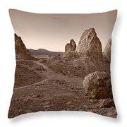 Trona Landscape Throw Pillow