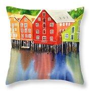 Trondheim Throw Pillow