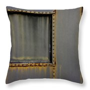 Troop Railcar Throw Pillow