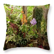 Tropic Beauty Throw Pillow