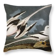 Tropic Bird Throw Pillow