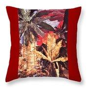 Tropic Blaze Throw Pillow