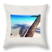 Tropic Shadows Throw Pillow