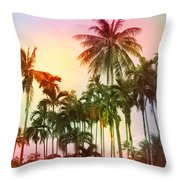 Tropical 11 Throw Pillow