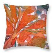 Tropical #5 Throw Pillow