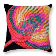 Tropical Air Conditioner Throw Pillow
