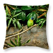 Tropical Bird 3 Throw Pillow