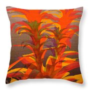Syncopated Botanicals Multi Throw Pillow