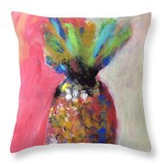 Tropical Candy Throw Pillow
