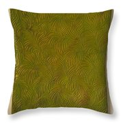 Tropical Palms Canvas Green - 16x20 Hand Painted Throw Pillow
