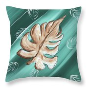 Tropical Dance 1 By Madart Throw Pillow