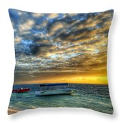 Tropical Dawn Throw Pillow