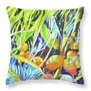 Tropical Design 1 Throw Pillow