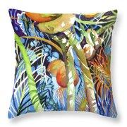 Tropical Design 2 Throw Pillow
