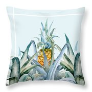 Tropical Feeling  Throw Pillow by Mark Ashkenazi