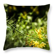 Tropical Flowers 7 Throw Pillow