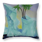 Tropical Getaway Throw Pillow