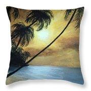 Tropical Grip Throw Pillow