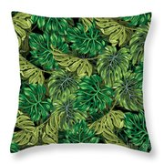Tropical Haven 2 Throw Pillow