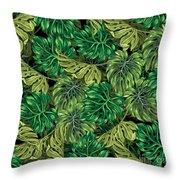 Tropical Haven 2 Throw Pillow