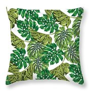 Tropical Haven  Throw Pillow