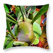 Tropical Heat Throw Pillow