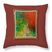 Tropical In Color  Throw Pillow