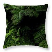 Tropical Jungle Throw Pillow