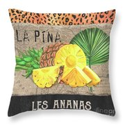 Tropical Palms 5 Throw Pillow