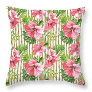Tropical Paradise-jp3964 Throw Pillow