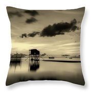 Tropical Peace Throw Pillow