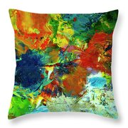 Tropical Reef #308 Throw Pillow