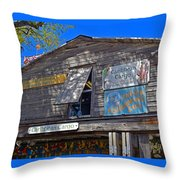 Tropical Shop Throw Pillow