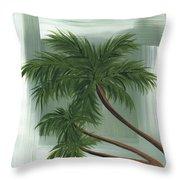 Tropical Splash 1 By Madart Throw Pillow