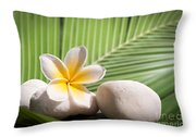 Tropical Still Life Throw Pillow