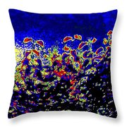 Tropical Sunrise 2 Throw Pillow