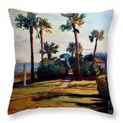 Tropical Sunshine Throw Pillow
