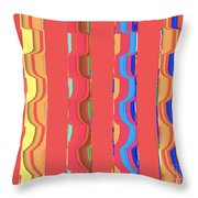 Tropical Vibrations Tapestry Throw Pillow
