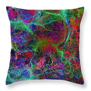 Tropical Twister 1 Throw Pillow